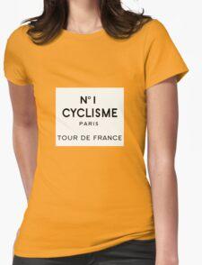 Tour de France Cycling Paris Womens Fitted T-Shirt