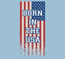 Born In The USA Flag by CarbonClothing