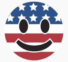 USA Smiley Face by CarbonClothing