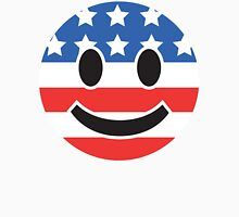 USA Smiley Face Unisex T-Shirt