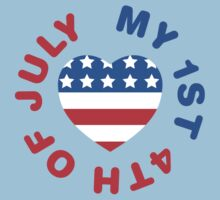 My 1st 4th Of July Kids Clothes