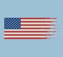 America Graffiti Flag Kids Clothes