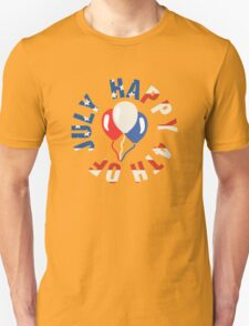 Happy 4th Of July Balloons T-Shirt