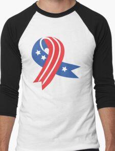 USA Ribbon 4th of July T-Shirt