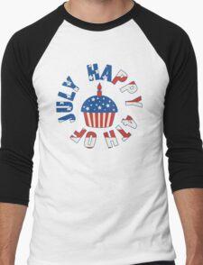 Happy 4th Of July Cupcake T-Shirt