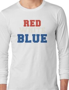 Red, White & Blue USA Long Sleeve T-Shirt