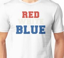 Red, White & Blue USA Unisex T-Shirt