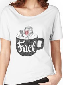 Coffee is Fuel Women's Relaxed Fit T-Shirt