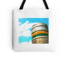 Rusty Barrel Tote Bag