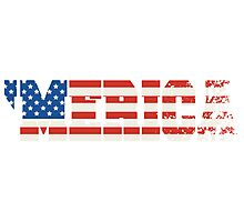 'Merica Flag Photographic Print