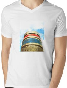 Coors Beer Barrel Mens V-Neck T-Shirt