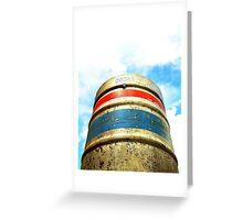 Coors Beer Barrel Greeting Card