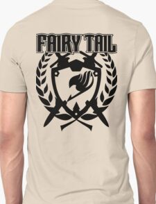Fairy Tail Emblem (Black) Unisex T-Shirt