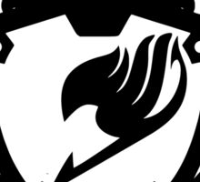 Fairy Tail Emblem (Black) Sticker