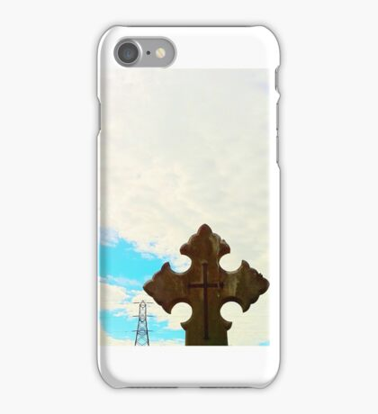 Electric Cemetery iPhone Case/Skin
