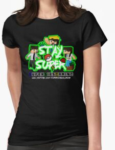 Stay Super! - SuperSibsGaming Womens Fitted T-Shirt
