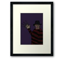 One, Two, Freddy's coming for you!  Framed Print