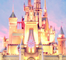 disney castle Sticker