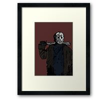 You're doomed, you're all doomed! Jason Vorhees Framed Print