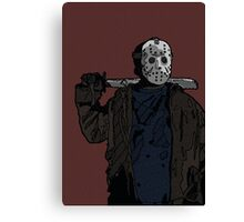You're doomed, you're all doomed! Jason Vorhees Canvas Print