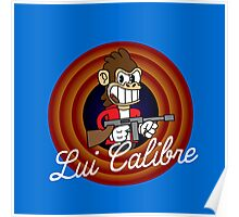Lui Calibre 1930's Cartoon Character Poster