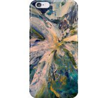 Blue Burst iPhone Case/Skin