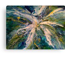 Blue Burst Canvas Print