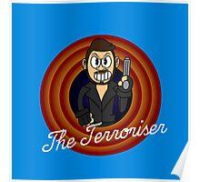 The Terroriser 1930's Cartoon Character Poster
