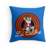 Lui Calibre 1930's Cartoon Character Throw Pillow