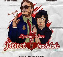 The Mysterious Case of Janet Snakehole by Aaron Morales