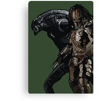 Alien or Predator? Canvas Print