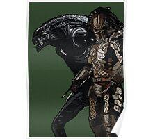 Alien or Predator? Poster