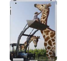 Tickle A Giraffe iPad Case/Skin