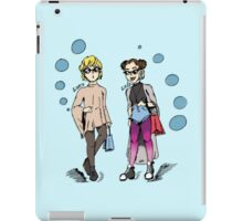 Luke & Leia: Fashion Icons iPad Case/Skin