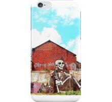 Wall Skeleton iPhone Case/Skin
