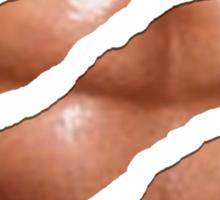 Shredded Abs Sticker