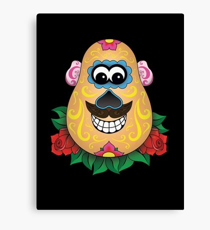 Day of the Spud Canvas Print