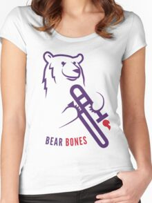 Bear Bones Women's Fitted Scoop T-Shirt