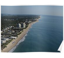 Looking North over Vero Beach Poster