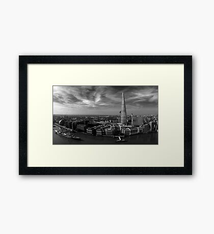 A View Of London Framed Print