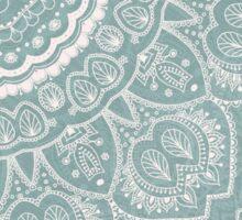 Mandala of Blue Dreams Sticker