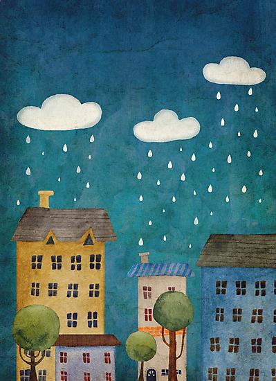 Rain by taoart
