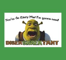 Disen-SHREK-tant humorous graphic design Baby Tee