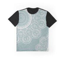 Mandala of Blue Dreams Graphic T-Shirt