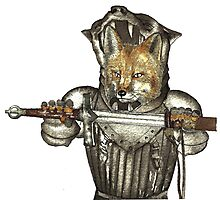 Fox Warrior Photographic Print
