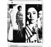 Faces of Lady Snowblood iPad Case/Skin