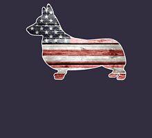 Patriotic Corgi Unisex T-Shirt