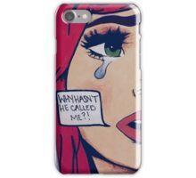 A modern day tragic romance iPhone Case/Skin