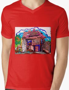 THIS OLD HOUSE Mens V-Neck T-Shirt