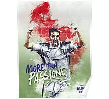 EURO FRANCE 2016 - ITALY Poster